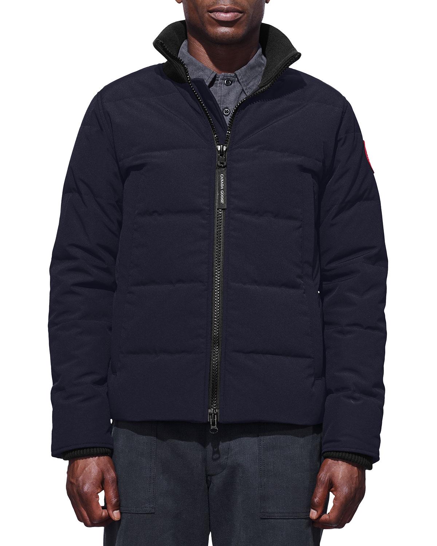 Canada Goose Men S Woolford Down Puffer Jacket Neiman Marcus