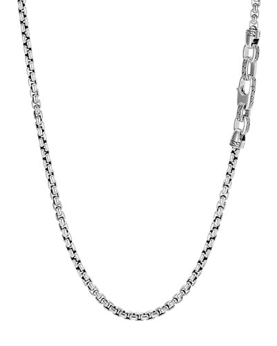Men's Classic Chain Necklace, 4mm