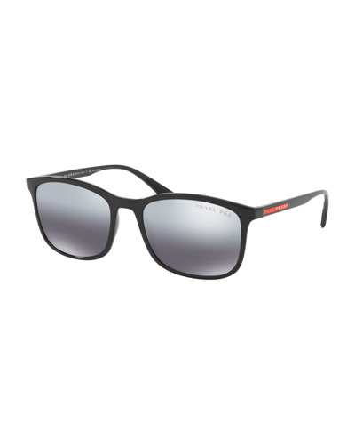 Men's Square Propionate Sunglasses