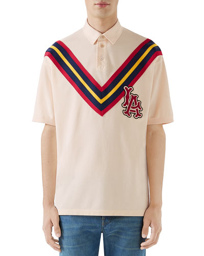 Men's Cut & Sewn Polo Shirt