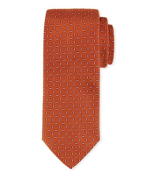 Cross-Stitch Silk Tie