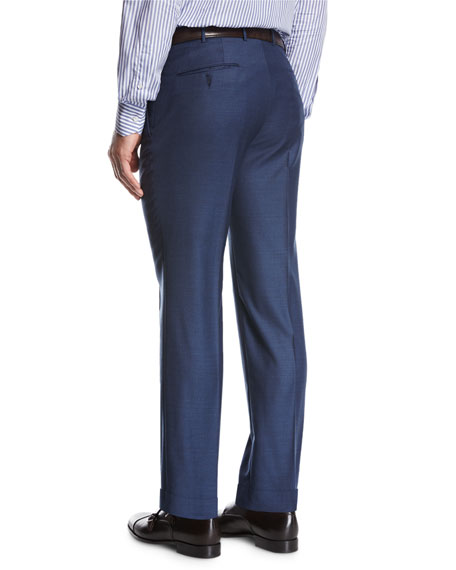 Trofeo® Continuative Straight-Leg Trousers, Blue