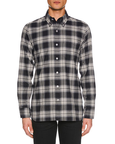 Men's Tonal Overcheck Shirt