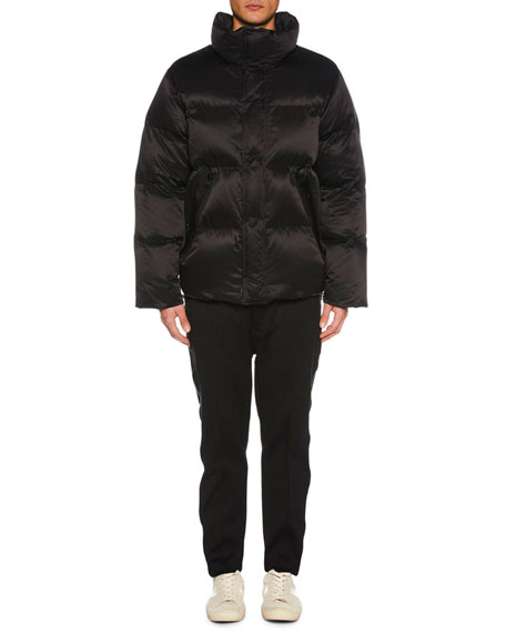 TOM FORD Men's Funnel-Neck Puffer Jacket