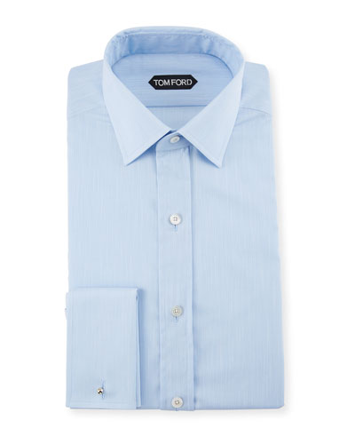 TOM FORD Men\u0027s Striped Spread-Collar Dress Shirt