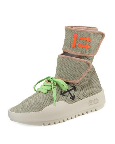 Men's MotoWrap Sneakers, Gray