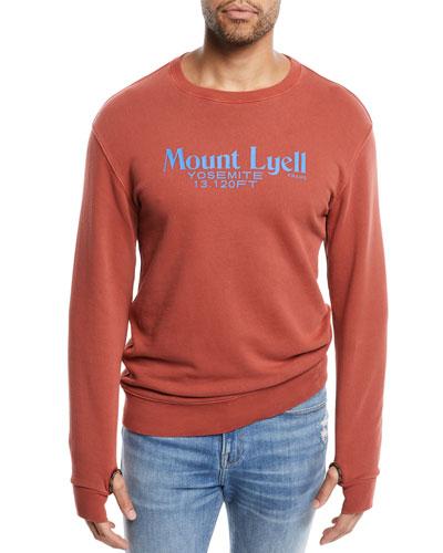 Men's Mount Lyell Crewneck Cotton Sweatshirt