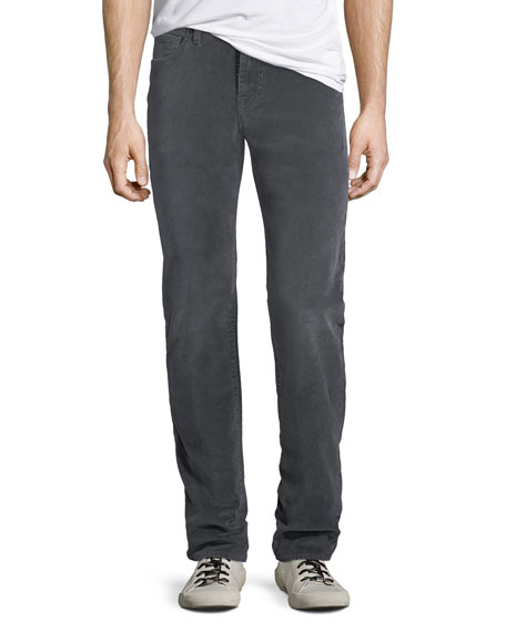 7 for all mankind Men's Slimmy 5-Pocket Velvet