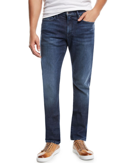 FRAME Men's L'Homme Slim Straight-Leg Denim Jeans