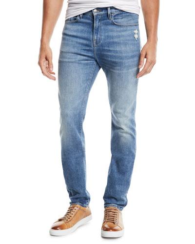 Men's L'Homme Skinny-Fit Jeans