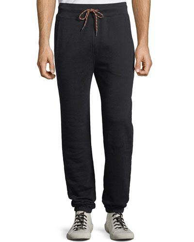 Men's Camp Cotton-Blend Sweatpants