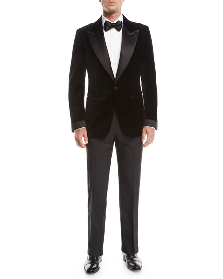 Men's O'Connor Wool Tuxedo Pants