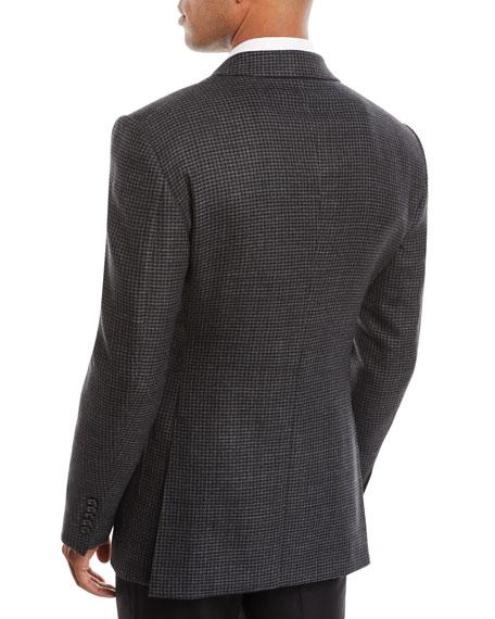 Men's O'Connor Wool/Cashmere Houndstooth Blazer Jacket