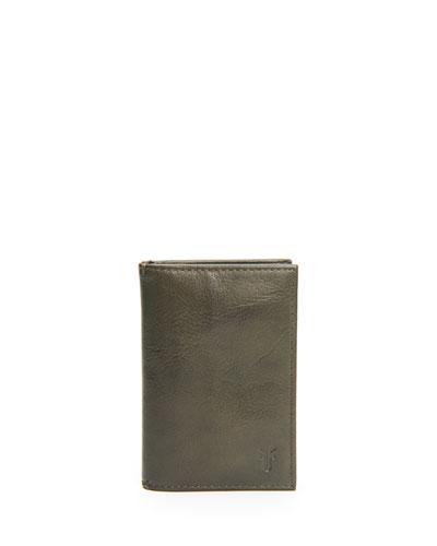 Men's Oliver Bi-Fold Leather Wallet