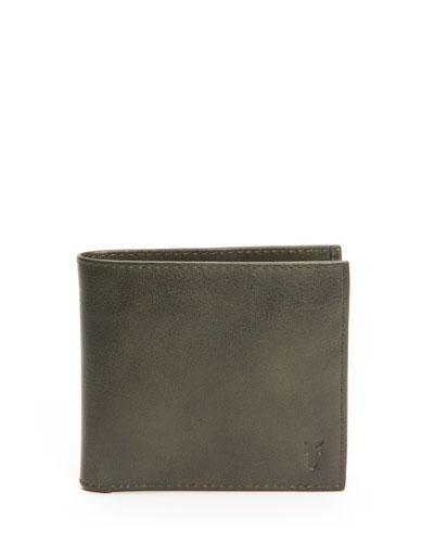 Men's Oliver Leather Bi-Fold Wallet