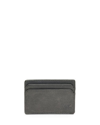 Neimanmarcus frye mens oliver leather id card case colourmoves