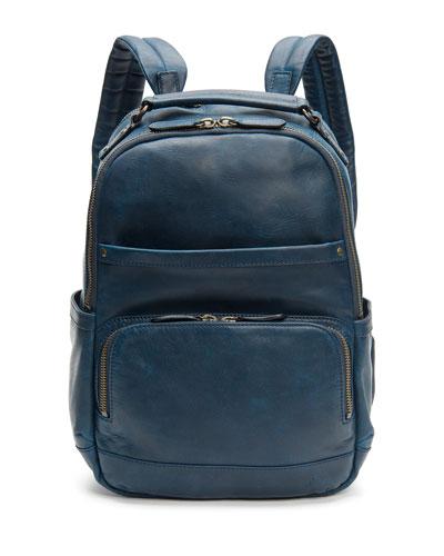 Men's Logan Leather Backpack