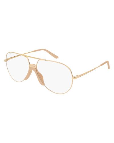 Men's Aviator Optical Glasses