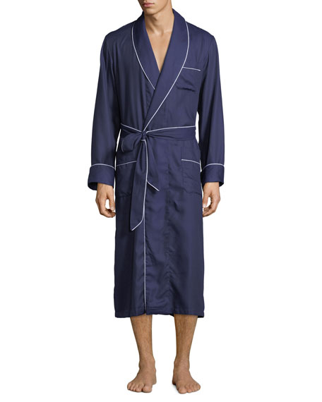 Derek Rose Men's Lombard 6 Long Robe