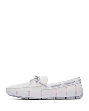 612fbe6818e66 Swims Men's Mesh & Braided-Lace Loafers