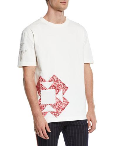 Men's Graphic-Patch T-Shirt