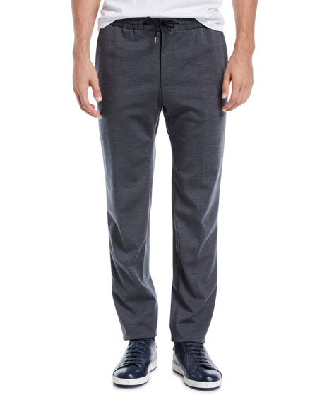 BOSS Men's Jersey-Stretch Jogger Pants