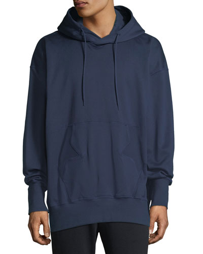Men's Stacked Logo Graphic Hoodie Sweatshirt