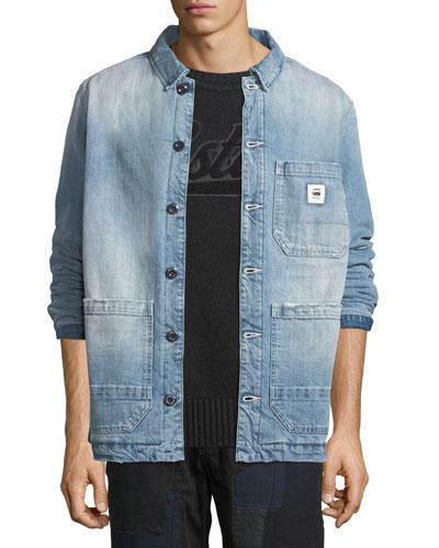 Men's Blake Padded Bitt Canvas Jacket