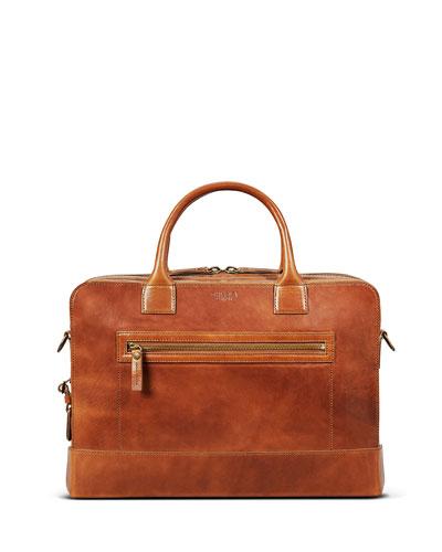 Men's Bedrock Embossed Harness Briefcase - 15