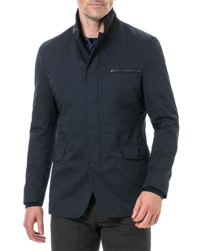 Men's Winscombe Zip-Front Jacket