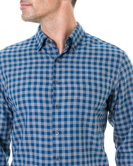 Men's East Harbour Check Sport Shirt