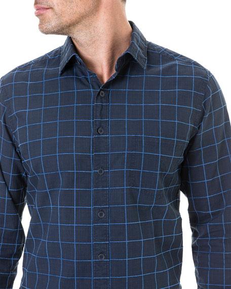 Men's Hindley Creek Windowpane Sport Shirt