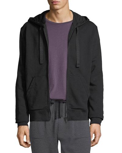 Men's Embroidered Taz Zip-Front Hoodie