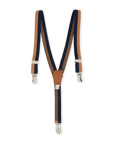 Boys' Striped Suspenders