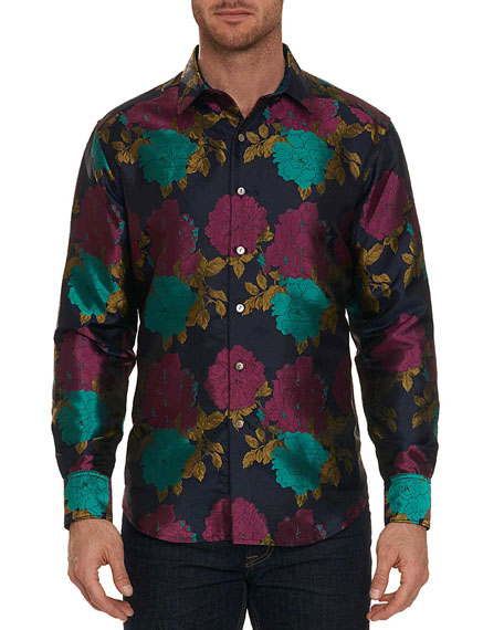 Robert Graham Limited Edition Tango Floral Silk Sport