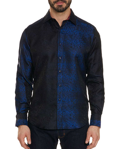 Limited Edition Seibelesk Metallic Silk Sport Shirt