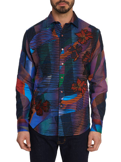 Limited Edition Canyon Flower Graphic Sport Shirt