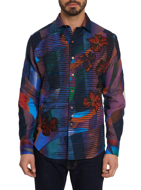 Robert Graham Limited Edition Canyon Flower Graphic Sport