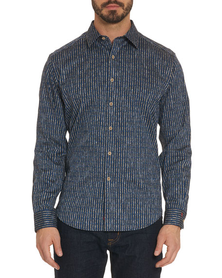 Ellis Striped Sport Shirt