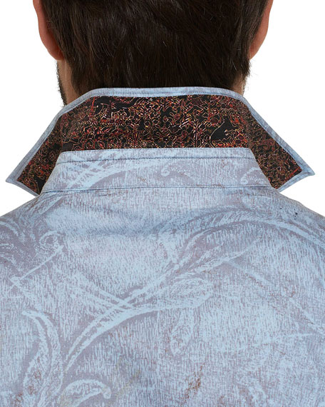 Marsden Graphic Damask Sport Shirt