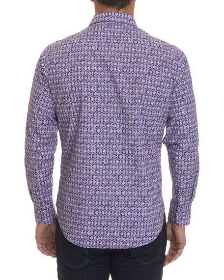 Men's Tresco Geo Graphic Sport Shirt
