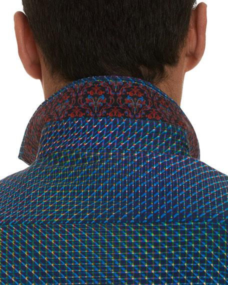 Men's Marsh Abstract Mini Print Sport Shirt