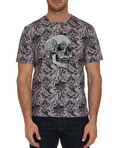 Men's The Crown Graphic Skull T-Shirt