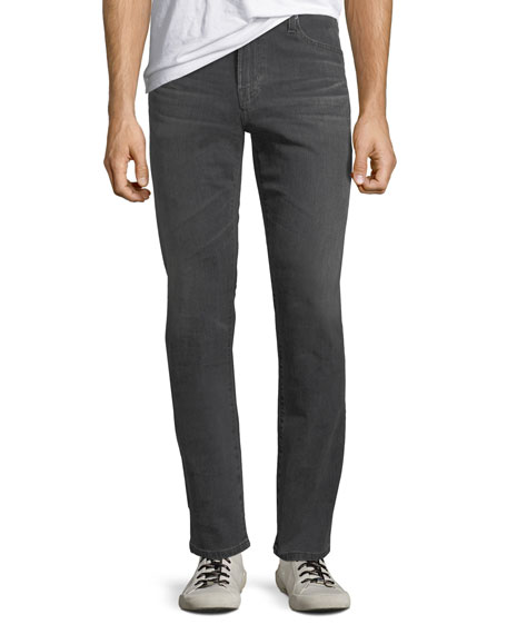 AG Adriano Goldschmied Men's Everett Slim-Straight Jeans in