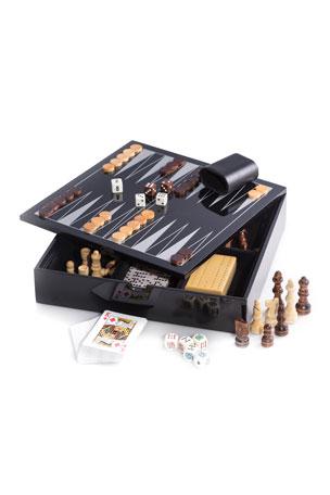 Bey-Berk Wooden Multi-Game Set