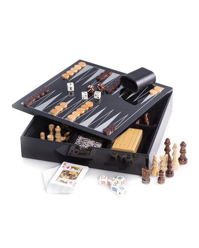 Wooden Multi-Game Set