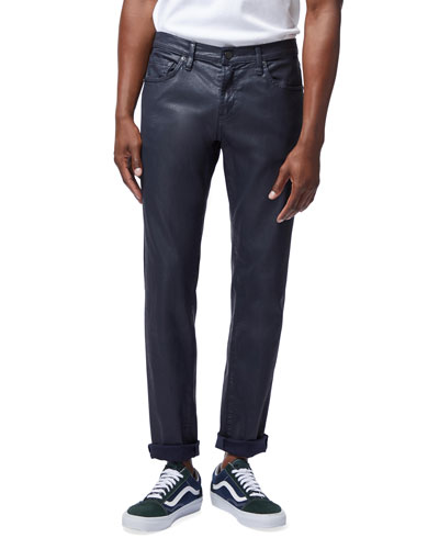 Men's Tyler Taper Slim-Fit Coated Jeans