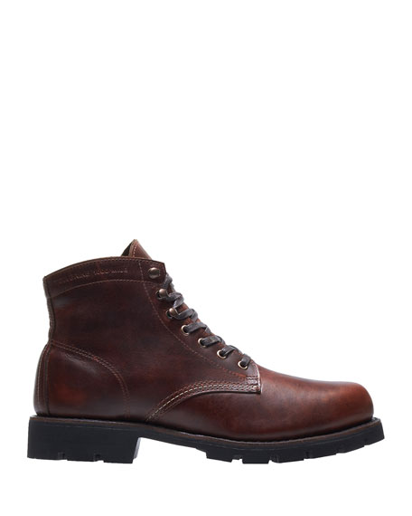 WOLVERINE Men'S Arctic Leather Ankle Boots in Brown
