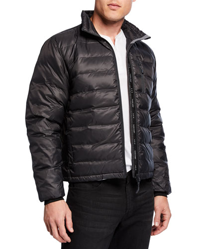 Men's Lodge Fusion-Fit Down Puffer Jacket
