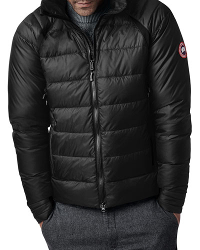 Men's HyBridge Hooded Down Puffer Base Jacket